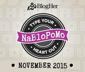 NaBloPoMo 2015